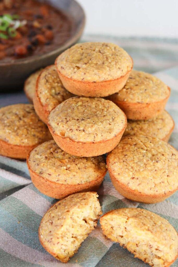 Rustic Polenta Muffins