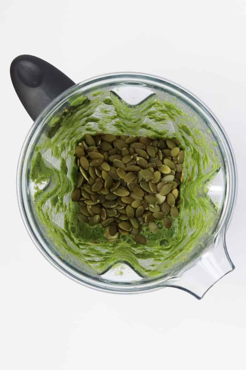 Easy Vegan No-Oil Pesto