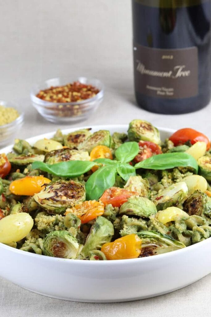 Pepita Pesto Pasta & Roasted Veggies