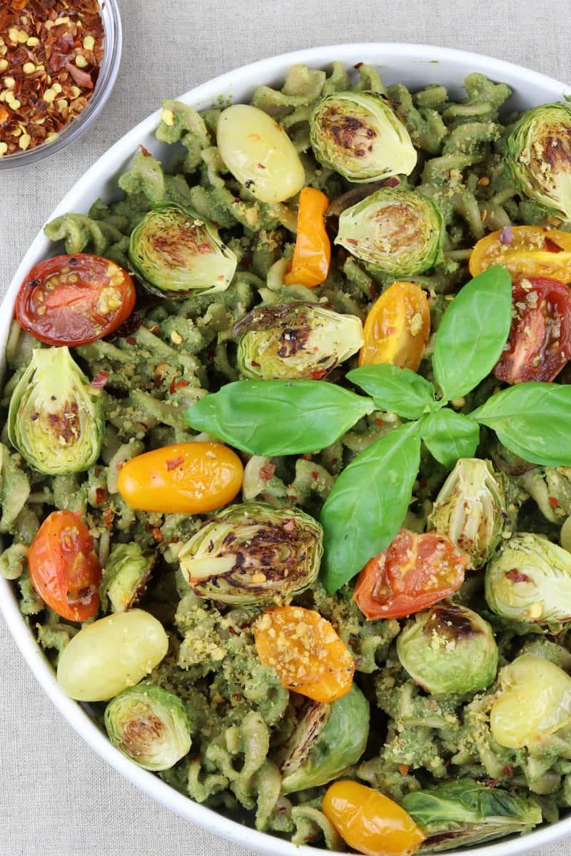 Pepita Pesto Pasta & Roasted Veggies