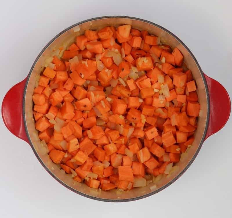 Sweet Potato Peanut Stew