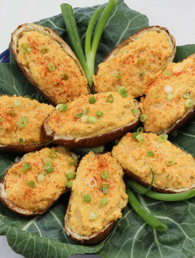 Healthy Twice-Baked Potatoes