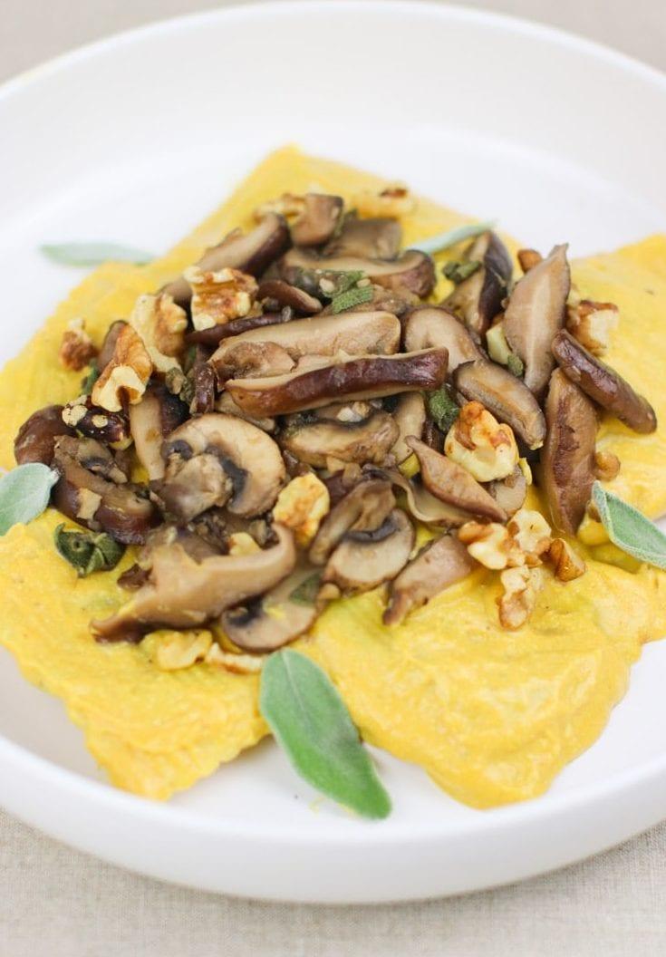 vegan pumpkin pasta
