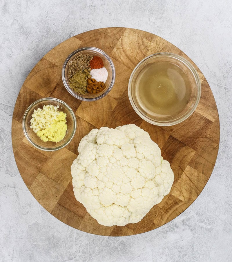 Slow Cooker Cauliflower
