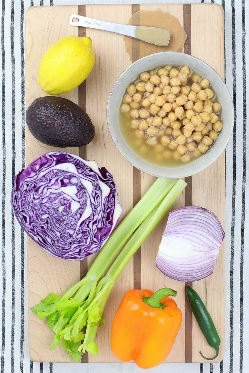 Simple Chickpea Salad