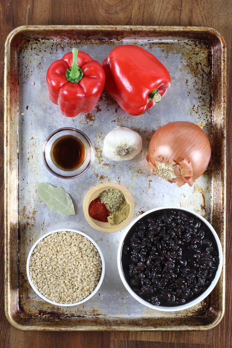 smokey vegan rice and beans