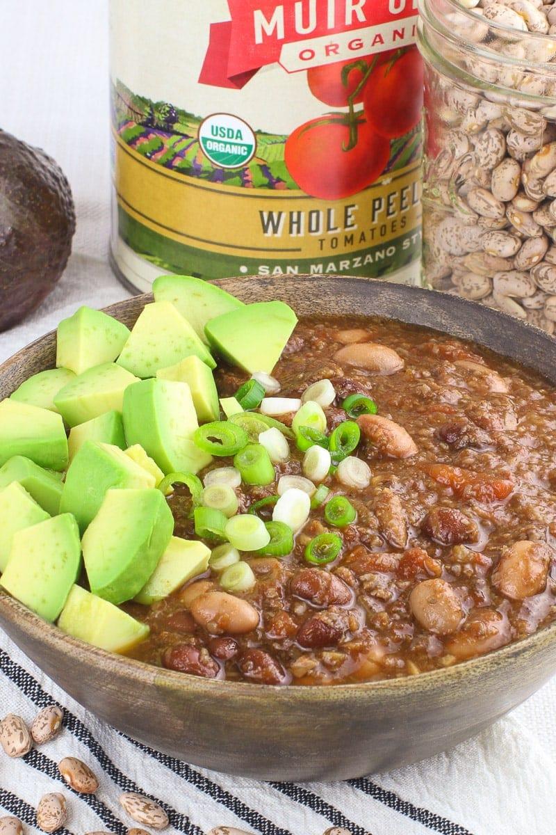 Best Damn Vegan Instant Pot Chili