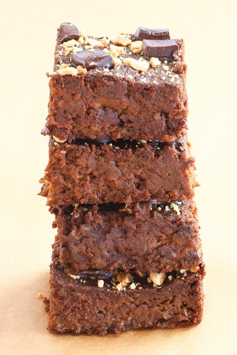 flourless sweet potato brownies