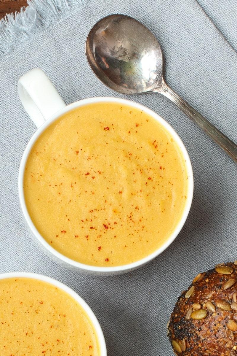 vegan beer cheese soup