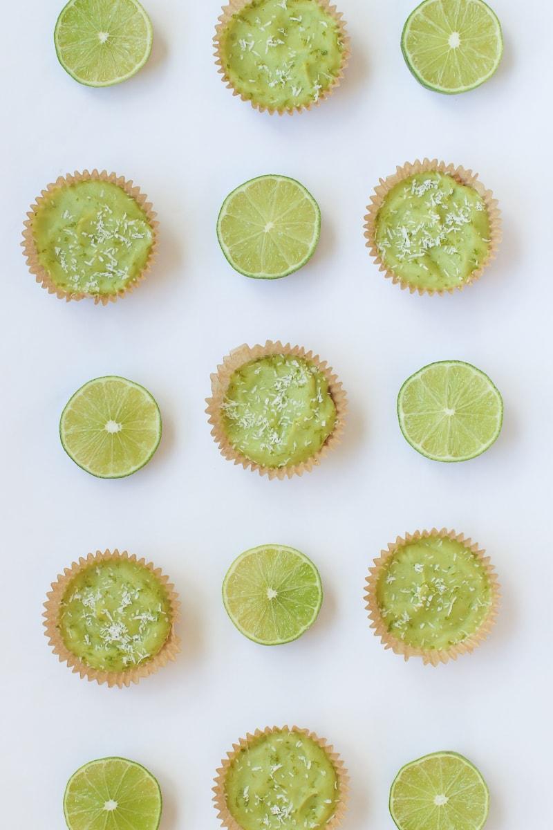 Vegan Key Lime Pie Mini Tarts